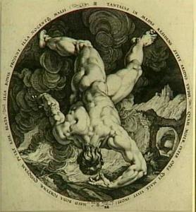 Een van de vier zondaars: Tantalus
