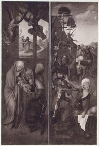 De besnijdenis (linkerluik); De kindermoord (rechterluik)