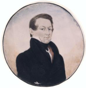 Portret van Peter Joseph Berger (1798-1865)