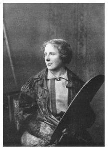 Portret van Thamine Tadama-Groeneveld (1871-1938)