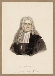 Portret van Johannes Conradus Rucker (1702-1778)