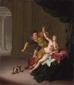 De verkrachting van Lucretia door Sextus Tarquinius