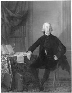 Portret van Guillelmus Titsingh (1733-1805), boekhouder bij de VOC