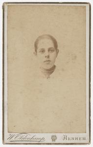 Portret van Anna Voorhoeve (1872-1936)