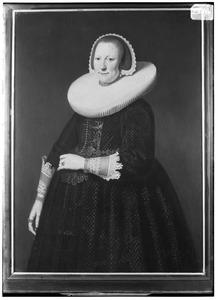 Portret van Maria van Balck (1601-1651)