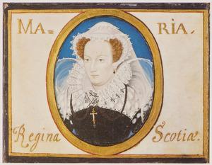 Portret van Maria Stuart (1542-1587)
