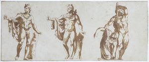 De Apollo Belvedere, en een Galliër die zijn vrouw en zichzelf doorsteekt