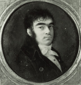 Zelfportret van Louis Marie Autissier (1772-1830)