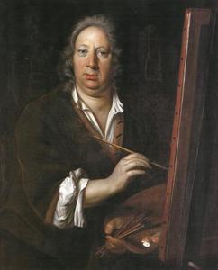 Portret van  Franz Werner von Tamm (1658-1724)