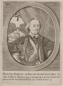 Portret van Johan Maurits van Nassau -Siegen (1604-1679)