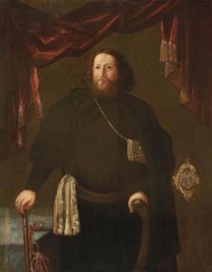 Portret van B.I.Prozorovsky