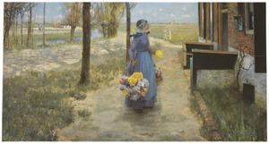 Bloemenmeisje uit Holland