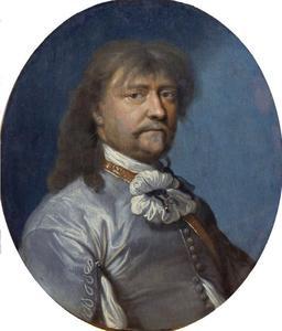 Portret van kunst- en boekenverzamelaar Laurids Ulfeldt (1605-1659)
