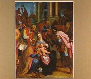 De aanbidding van de Wijzen (Matt. 2:9-11)