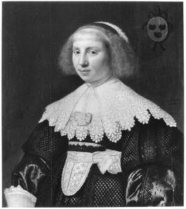 Portret van Geertruyd Brasser (1609-1692)