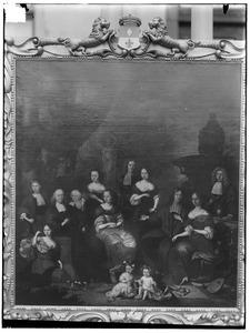 Portret van Horatius Vitringa (1631- )