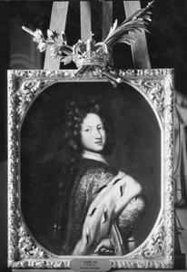 Portret van Karl XII (1682-1718), koning van Zweden