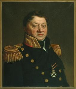 Portret van Johan Daniel Musquetier (1766-1831)
