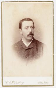Portret van Frederik Alexander van Ittersum (1858-1944)