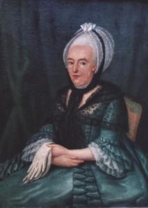 Portret van Jacoba Prins ( -1806)