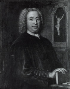 Portret van Adrianus van Cauwenberg (1684-1742)