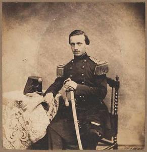 Portret van Gustaaf Adolf Brunings (1835-1878)