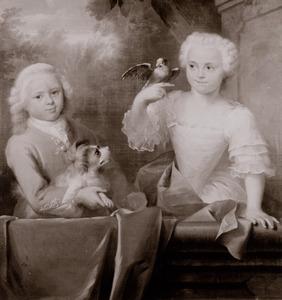 Portret van Johanna de Roo (1741-1800) en Hendrik de Roo (1743-1817