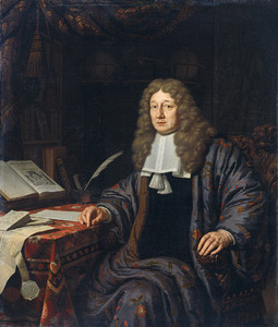 Portret van Johannes Hudde (1628-1704)