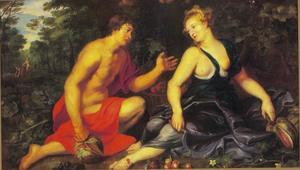 Vertumnus en Pomona (Ovidius, Metamorfosen, XIV, 622-771)