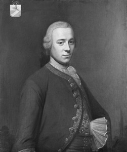 Portret van Henrick Backer (1730-1779)