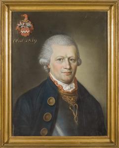 Portret van Godefridus Franciscus Antonius Henricus Cornelius van Hugenpoth tot Aerdt (1743-1819)