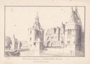 De Drommedaris en de Oost-Indische Toren in Enkhuizen