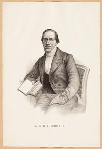 Portret van Gilles Dionysius Jacobus Schotel (1807-1892)