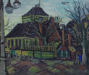 Amstelkerk op het Amstelveld te Amsterdam