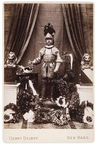 Portret van Rodolphe Frédéric baron van Heeckeren (1858-1936) als Matthias, Aartshertog van Oostenrijk