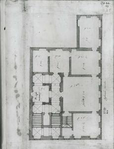 Palazzo dell' Acquedotto de Ferrari Galliera: Plan van de hoofdverdieping