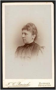 Portret van Emma Paulina Boogaert (1850- )