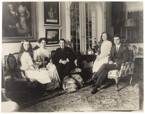 Portret van de kinderen van Louis Antoine van Loon (1862-1953)