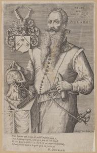 Portret van Jean Francois le Petit (1545-1614)