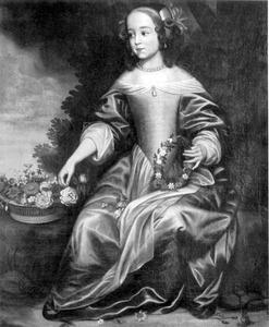 Portret van Maria van Oranje-Nassau (1642-1688)