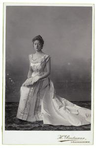 Portret van Idzardina Juliana Frederika de Constant Rebecque (1877-1958)