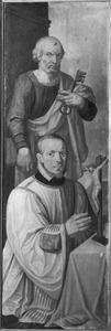 H. Petrus met stichter-kanunnik
