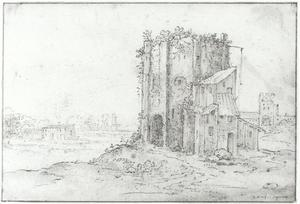 Ruïnes van een ronde toren