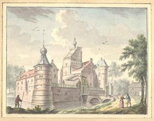 Gezicht op kasteel Heumen