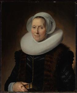 Portret van Maritge Claesdr. Voogt (....-1644)