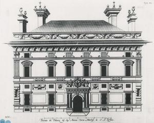 Palazzo Doria Spinola: Plan van de gevel