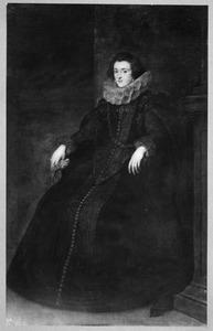 Portret van Polissena Spinola, Marchesa de Leganes (?-1639), echtgenote Diego Mexía Felipez de Guzmán y Dávila, 1st Marqués de Leganés