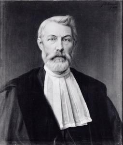Portret van Pieter de Jong (1852-1890)