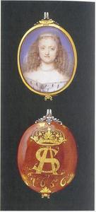 Portret van Sophie Amalie van Brunswijk-Luneburg (1628-1685)