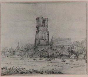 Ransdorp, gezicht op de kerk